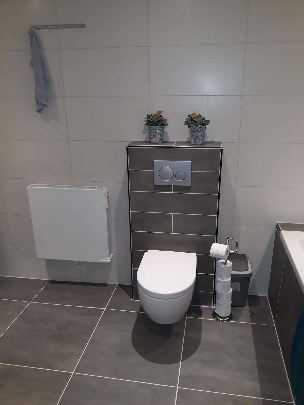 Onlangs uitgevoerd werk badkamer – Klusbedrijf PJ Mourits